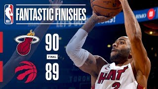 The Heat and Raptors Engage in a Fantastic Finish in Toronto | January 9, 2018