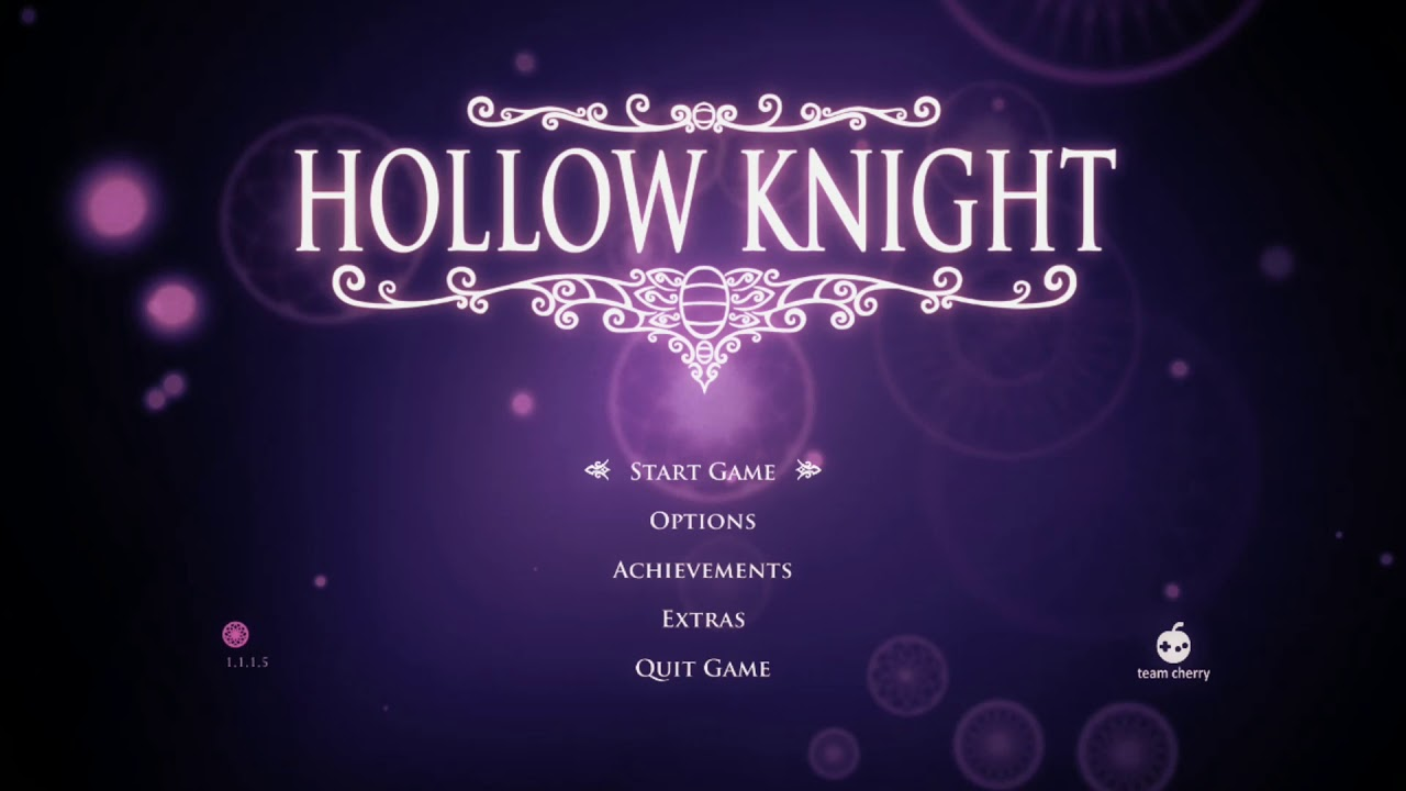 Hollow Knight Ambience Hidden Dreams Title Screen Youtube