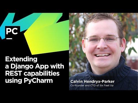 Extending a Django App with REST Capabilities Using PyCharm