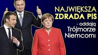 Największa zdrada PiS - oddają Trójmorze Niemcom! Kowalski & Chojecki NA ŻYWO w IPP TV 28.08.201