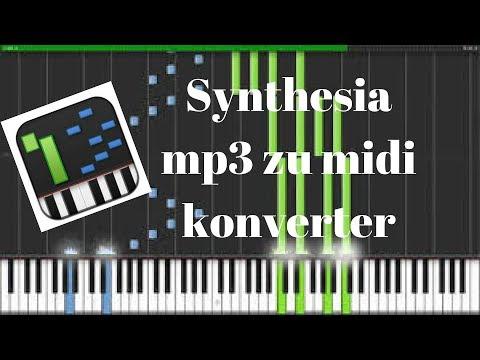 ( Synthesia ) mp3 zu midi konverter