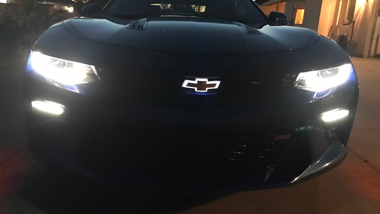 2016 Camaro 2SS Illuminated Chevy Bowtie