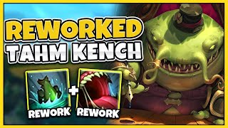 RIOT JUST REWORKED TAHM KENCH! WTF ARE THESE SPELLS!? - League of Legends