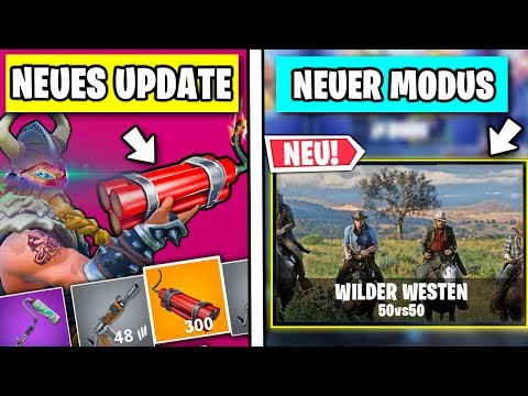 Neues Dynamite Update 🤠 Wild West Modus | Fortnite Season 6 Deutsch
