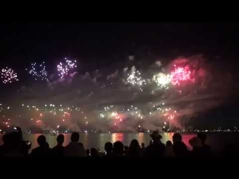 Australia Day Fireworks 2015 Perth Foreshore