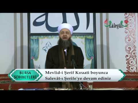 Cübbeli Ahmet Hocaefendi - Mevlid-i Şerîf Kıraati (02.01.2015 Bursa Vakıf Külliyesi)