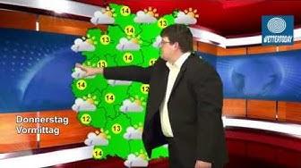 Deutschlandwetter für Christi Himmelfahrt 2013 09.05.2013 mit Trend