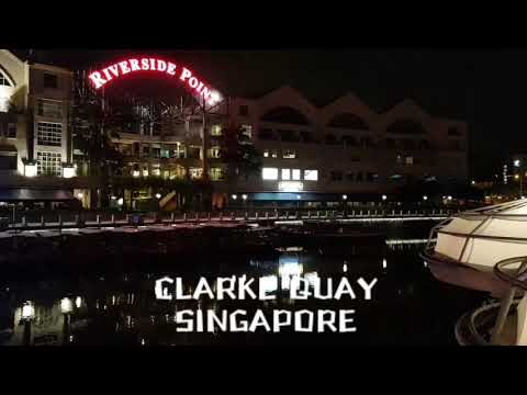 Nightlife in Singapore | Clarke Quay | Riverside