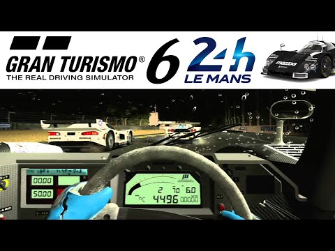 Gran Turismo 6: 24 Minutes of Le Mans Gameplay (Mazda 787B Stealth)