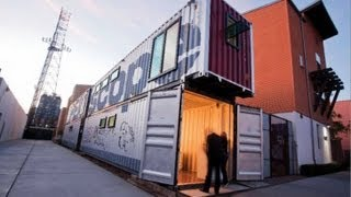 prefab shipping container homes and buildings