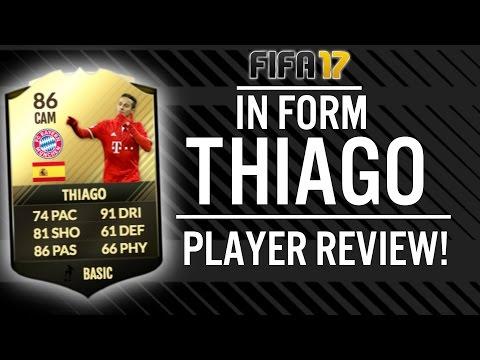 FIFA 17 IN FORM THIAGO ALCANTARA (86) PLAYER REVIEW! | FIFA 17 ULTIMATE TEAM