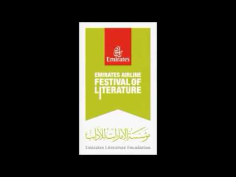 Dubai Radio interview on Emirates Airline Festival of Literature Competitions