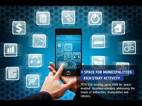 Space For Municipalities Kick-start Activity - Webinar 20 October 2017