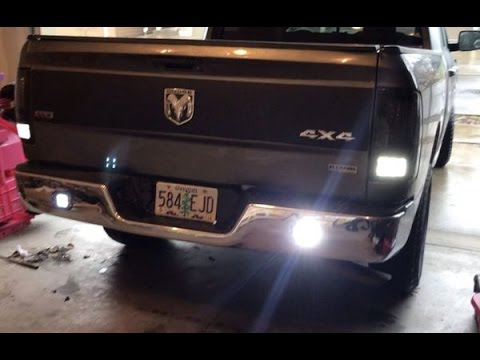 installing auxiliary reverse lights on my dodge ram youtube. Black Bedroom Furniture Sets. Home Design Ideas