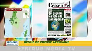 revue de presse africaine : KIOSQUE PANAFRICAIN DU 16 08 2018