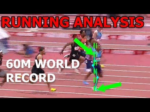 Running Analysis: BREAKING THE 60M WORLD RECORD (Christian Coleman)