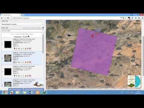 *Exclusive* Comment télécharger les images OLI, LandSat, Radar, ou autres sur EarthExplorer