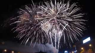Фейерверк День города Харькова 23 августа 2013