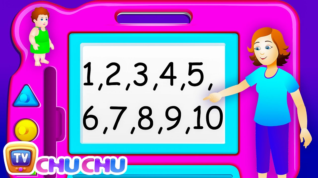 Download ChuChu TV Numbers Song - NEW Short Version - Number Rhymes For Children