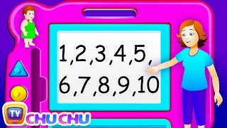 Repeat youtube video ChuChu TV Numbers Song - NEW Short Version - Number Rhymes For Children