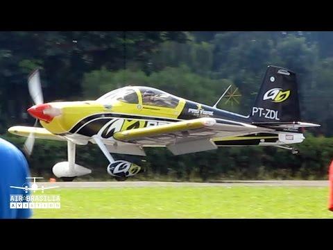 Avião RV-7 Aircraft Acrobatics | Show Aéreo | Itápolis Air Show | Cmte Douglas | PT-ZDL | SDIO