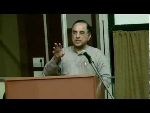 Part 1/2 - Dr Subramanian Swamy at Commisceo - Madras Christian College  9 Dec 2013