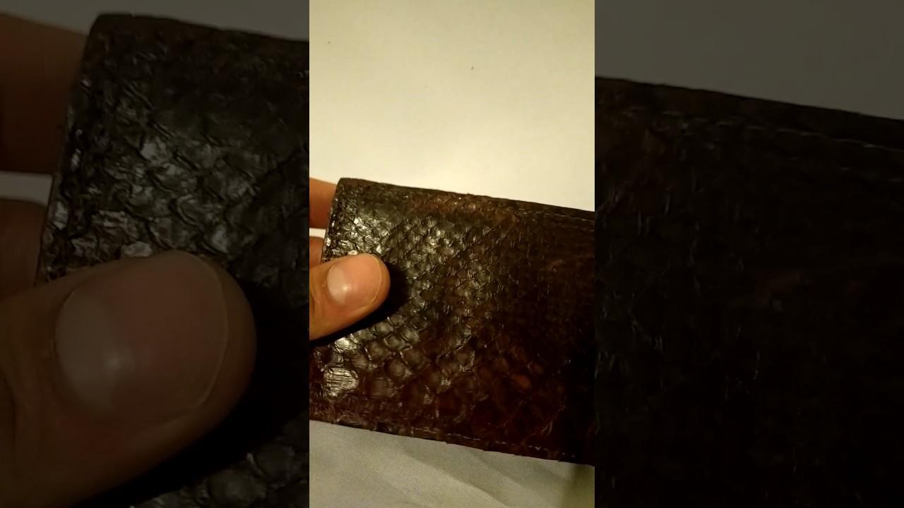 866398bbb Proveedor carteras de piel exotica en México piel de víbora piton cobra