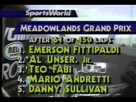 CART 1988 - MEADOWLANDS - ROUND 8