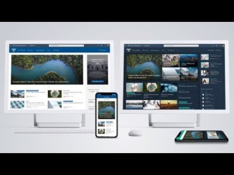Nyhet från Microsoft - SharePoint Home Site