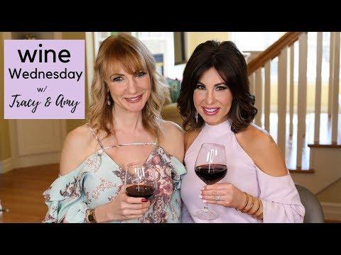 Wine WEDNESDAY W/ Tracy & Amy | Random CHIT-CHAT | April