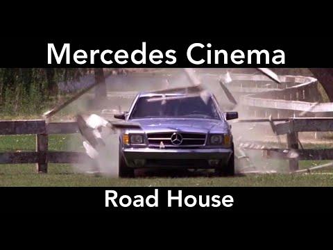 Mercedes Cinema - Road House - Mercedes 500SEC C126