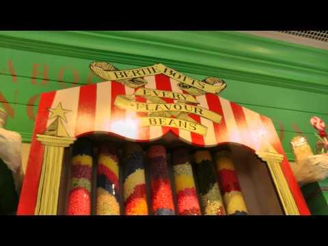 Hogsmeade: Interiors of The Hog's Head Pub, The Three Broomsticks, Honeydukes and Zonko's