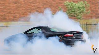 Black Nasty Z28 Camaro Burnouts