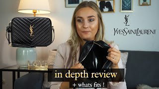 YSL LOU CAMERA BAG REVIEW – pros and cons, mod shots, what fits inside