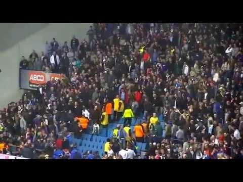 Vitesse - Ajax 1-1 06-04-2014 : Rellen op de tribune