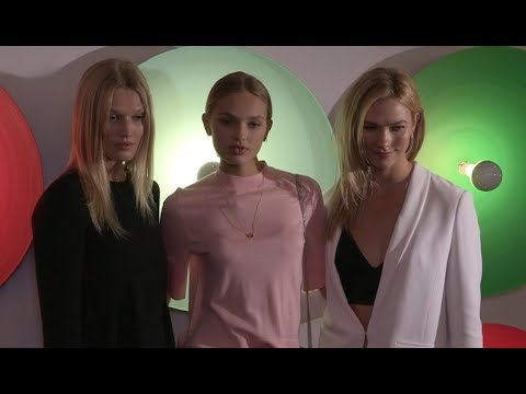 Toni Garrn, Romee Strijd, Karlie Kloss and more at Boss Woman Fashion Show in New york