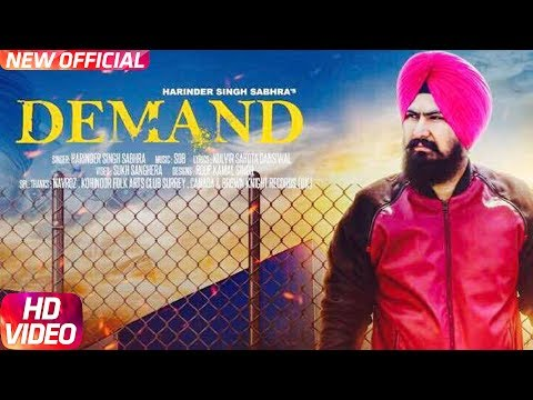 Demand  (Full Song) | Harinder Singh Sabhra | Latest Punjabi Song 2017 | Speed Records