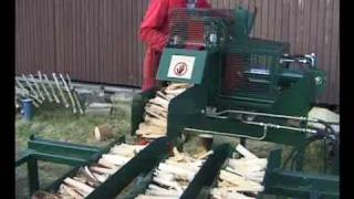 Repeat youtube video Wood as Fuel at Lion Salt Works March 1999