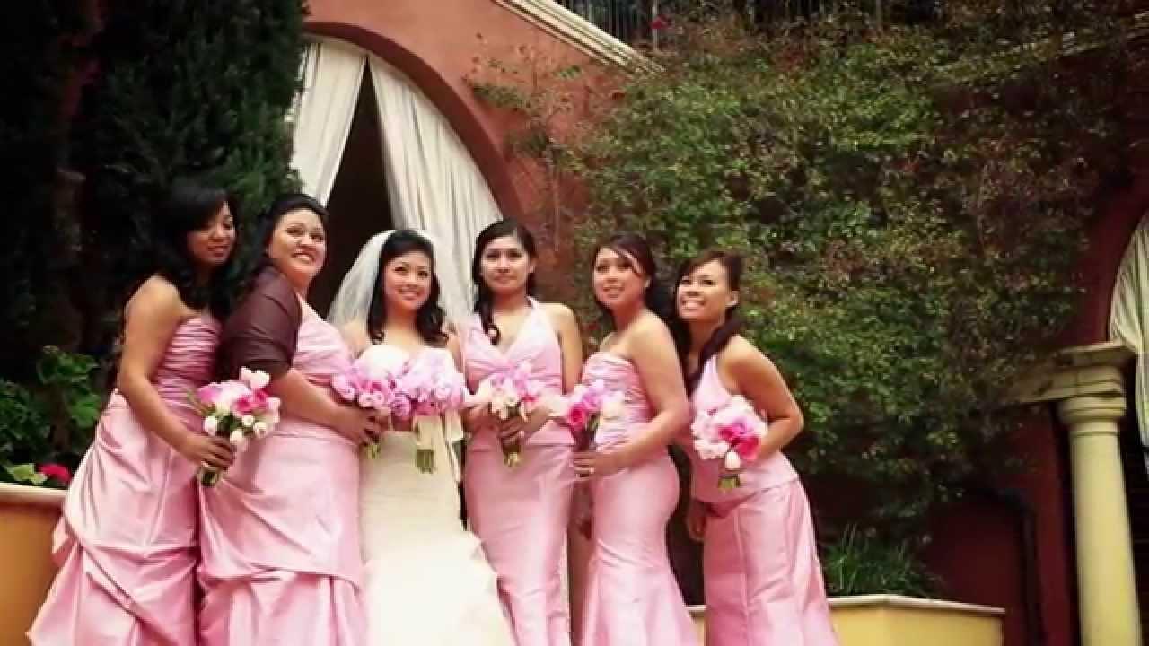 Iglesia ni Christo, Ranch Golf Club, San Jose, CA wedding video same ...