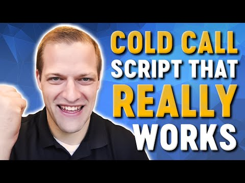 Why This New Cold Calling Script Works WONDERS Door To Door Or Over The Phone!