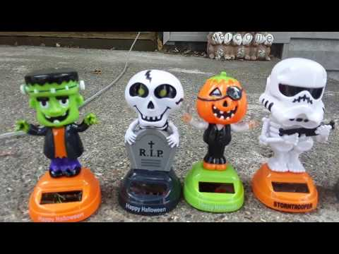 The Future Presents 2017 Dollar General Halloween Dancing Solar Characters Showcase & Review