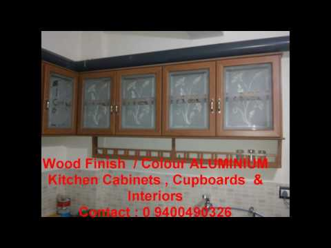 LOW COST FULLY ALUMINIUM KITCHEN - (Home INTERIORS) KERALA -Contact 9400490326
