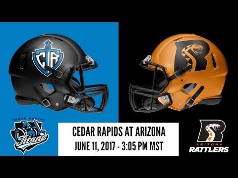 Week 17 | Cedar Rapids Titans at Arizona Rattlers