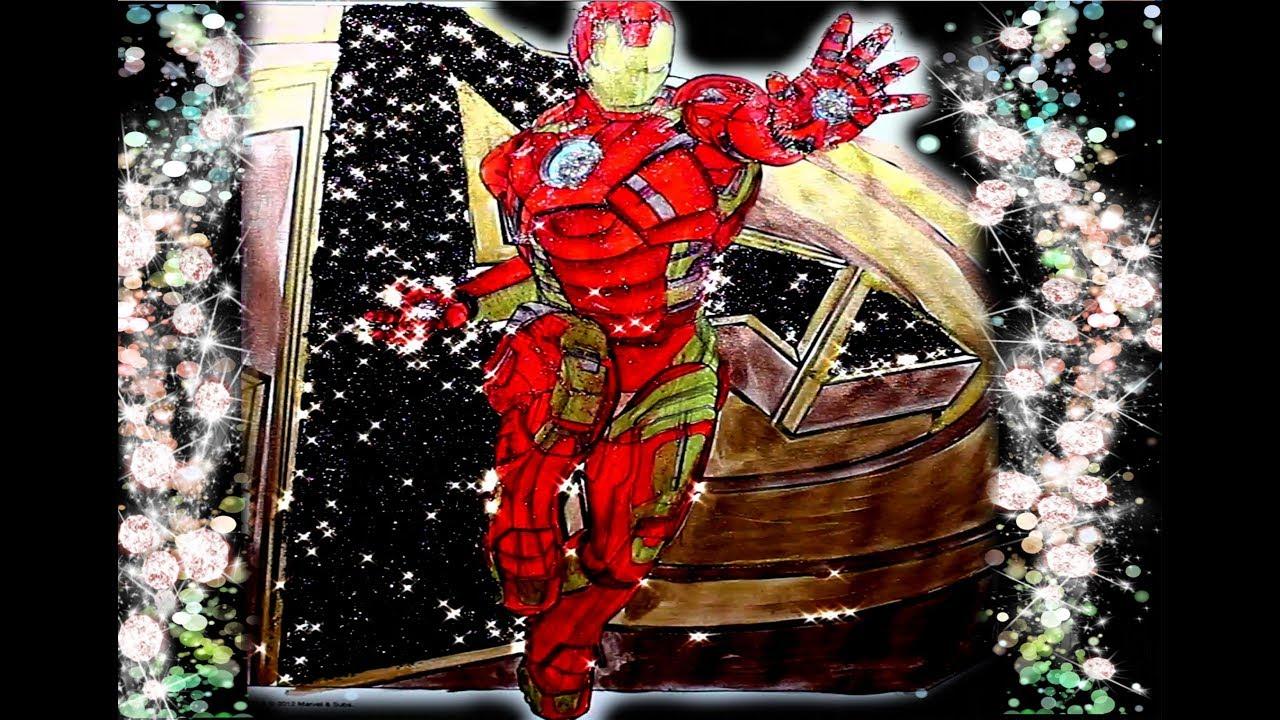 Iron Man Boyama Demir Adam çocuklar Için Eğlenceli Boyama Sayfası