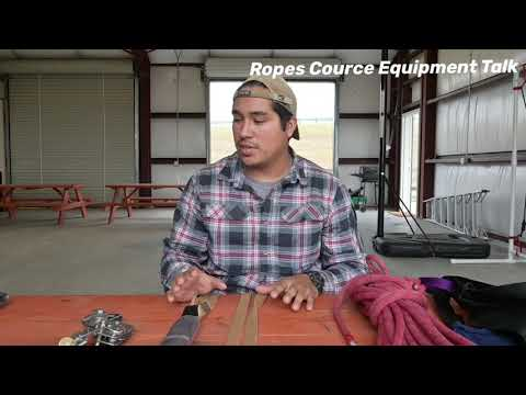 Ropes Course Equipment Talk