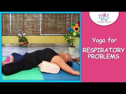 Supta Baddha Konasana || Reclining Bound Angle Pose || Yoga For Respiratory Problems