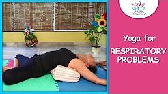 Supta Baddha Konasana    Reclining Bound Angle Pose    Yoga For Respiratory Problems