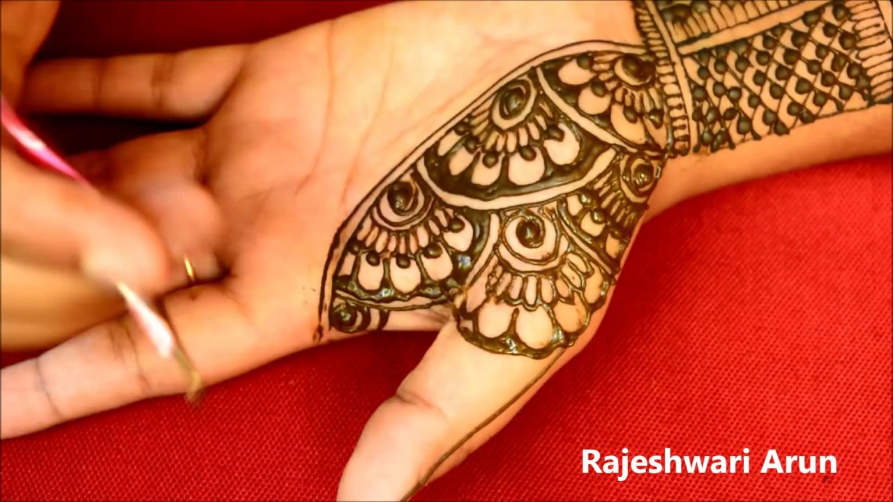 New Latest Mehndi Designs for Fullhands * Easy Bridal Mehndi designs *Simple henna designs * mehndi #1