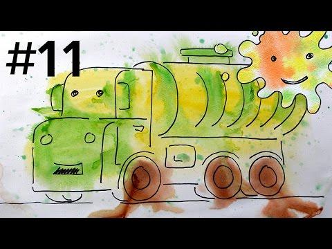 Пожарные машины и видео для детей