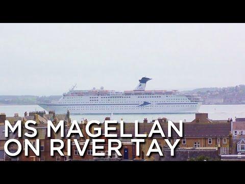 2016-05-07 'MS Magellan Sailing On River Tay, Dundee, UK'